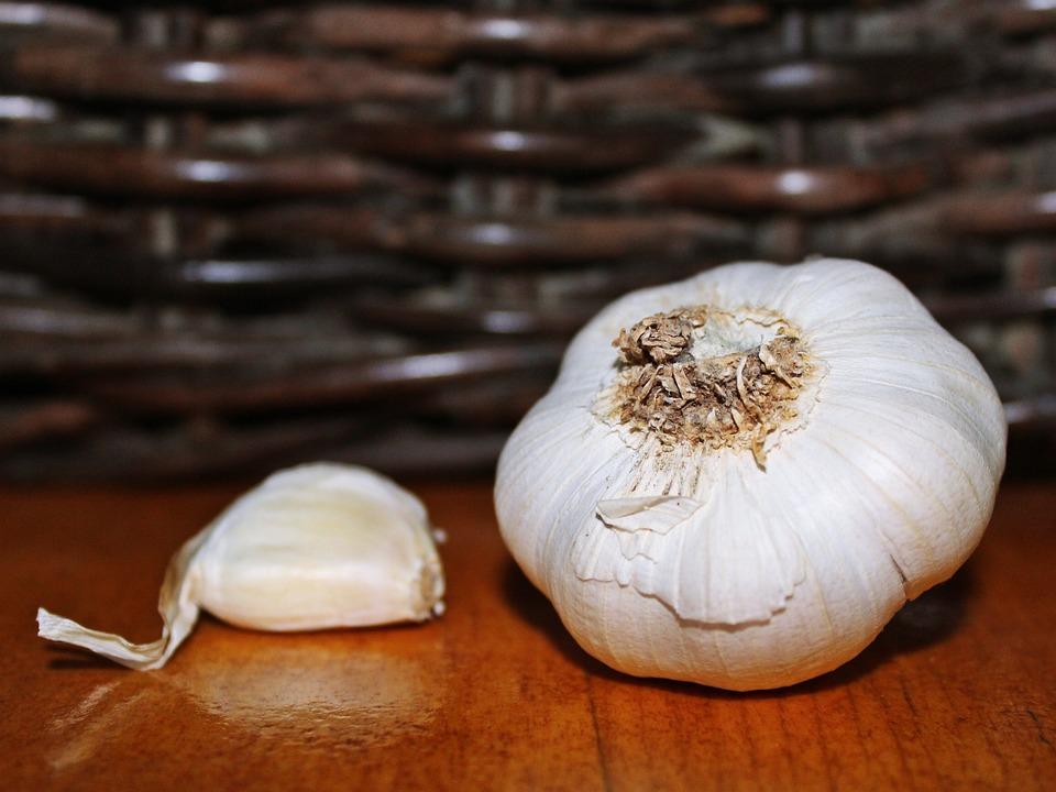 Garlic, Clove Of Garlic, Decoration, Still, Still Life