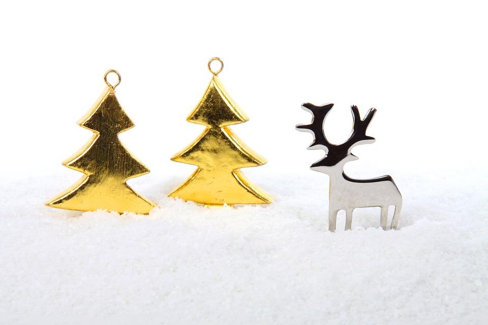 Metal, Tree, Trees, Celebration, Christmas, Decoration