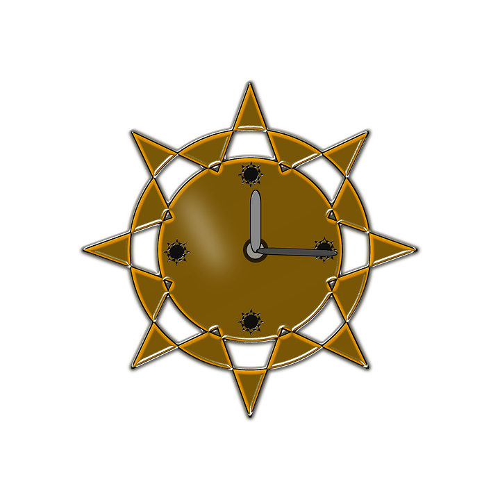 Wall Clock, Brown, Clock, Time, Decoration, Style