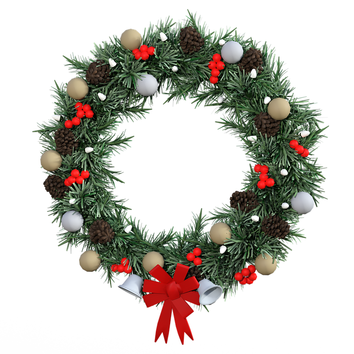 free photo decoration wreath advent christmas decoration. Black Bedroom Furniture Sets. Home Design Ideas