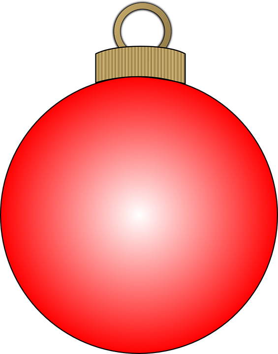 Bulb, Christmas, Decoration, Tree, Red, Xmas