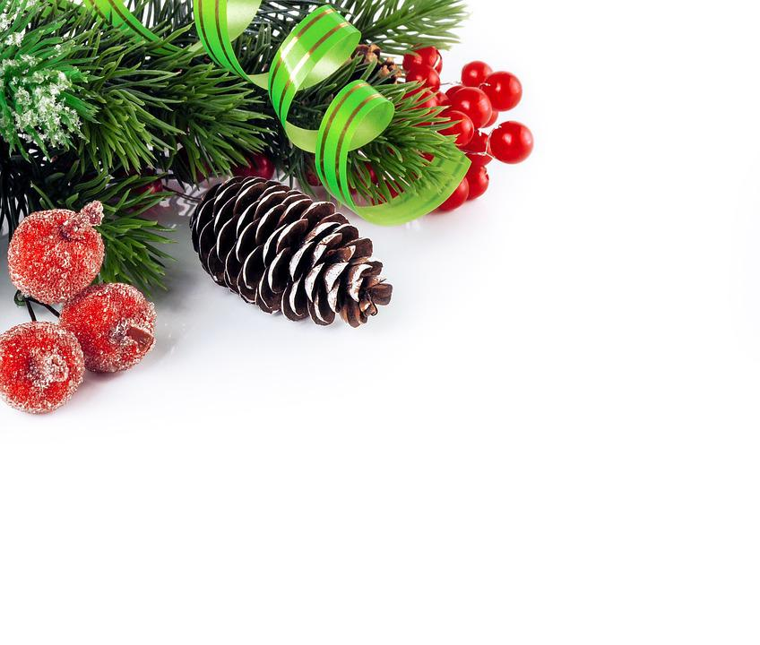Christmas, Holiday, Decoration, Mockup, Decorations