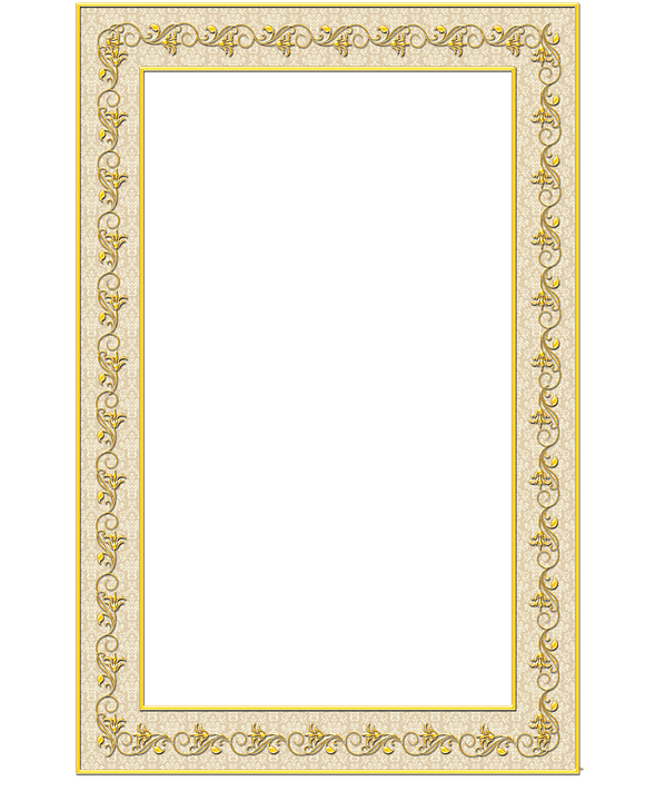 Frame, Decorative, Ornament, Transparent Background