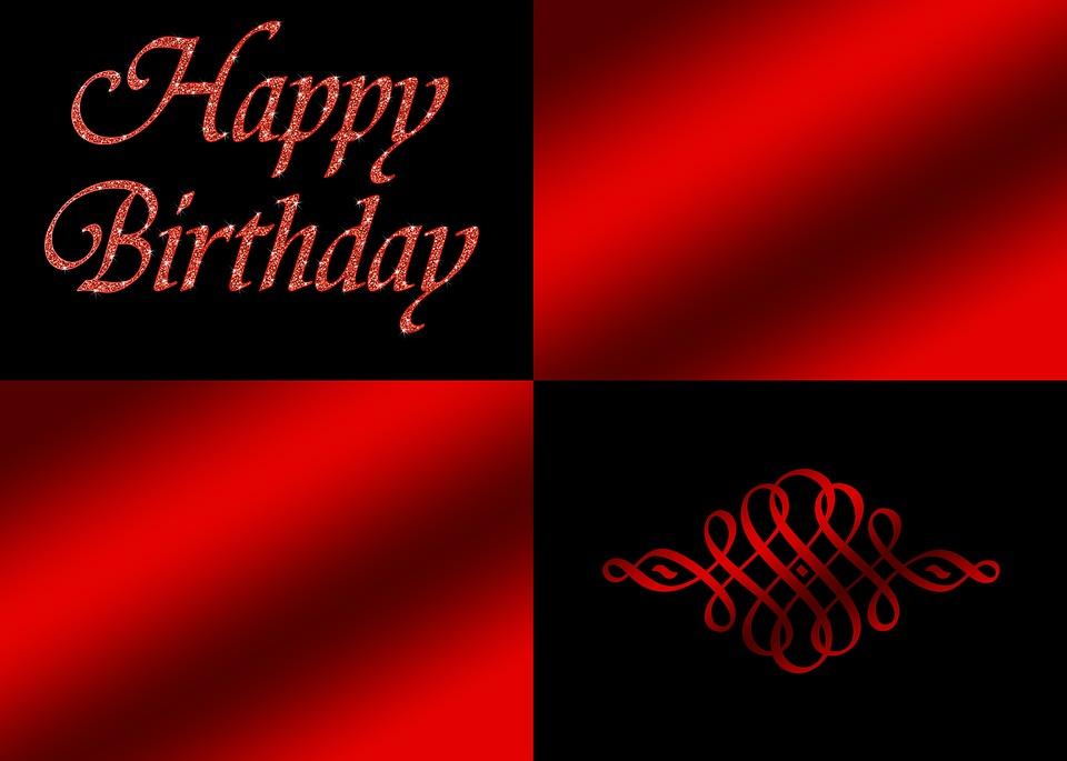Birthday, Happy Birthday, Noble, Decorative, Greeting