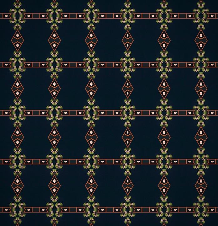 Pattern, Ornate, Border, Design, Decorative, Retro