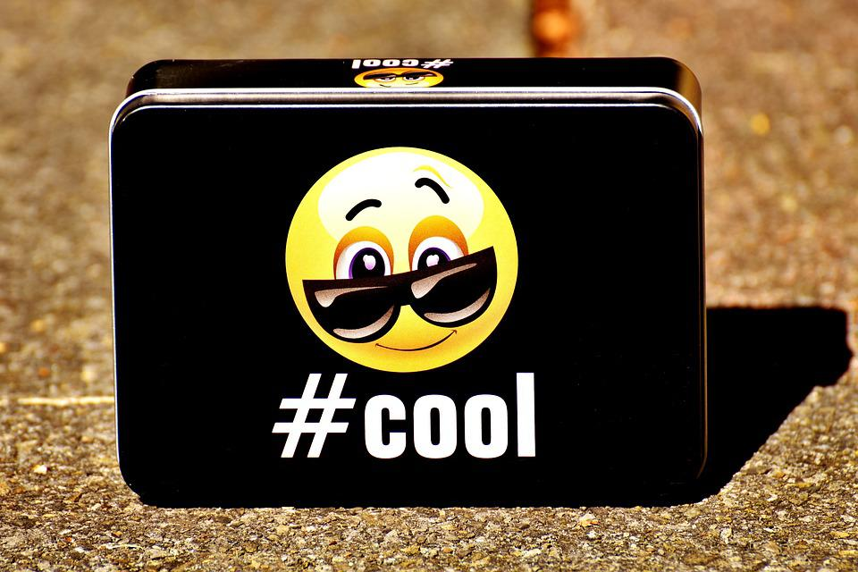 Smiley, Cool, Box, Storage, Decorative, Vessel