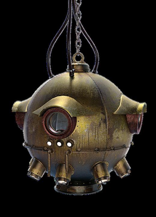 Submarine, Diving Ball, Diving Equipment, Deep Sea Ball