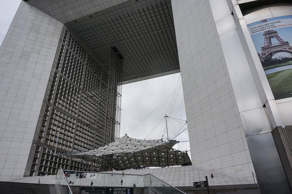 Paris, La Défense, Defense, Architecture, City View