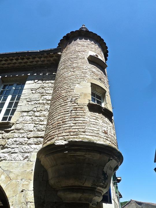 Turret, Corner, Tower, Fortification, Defense