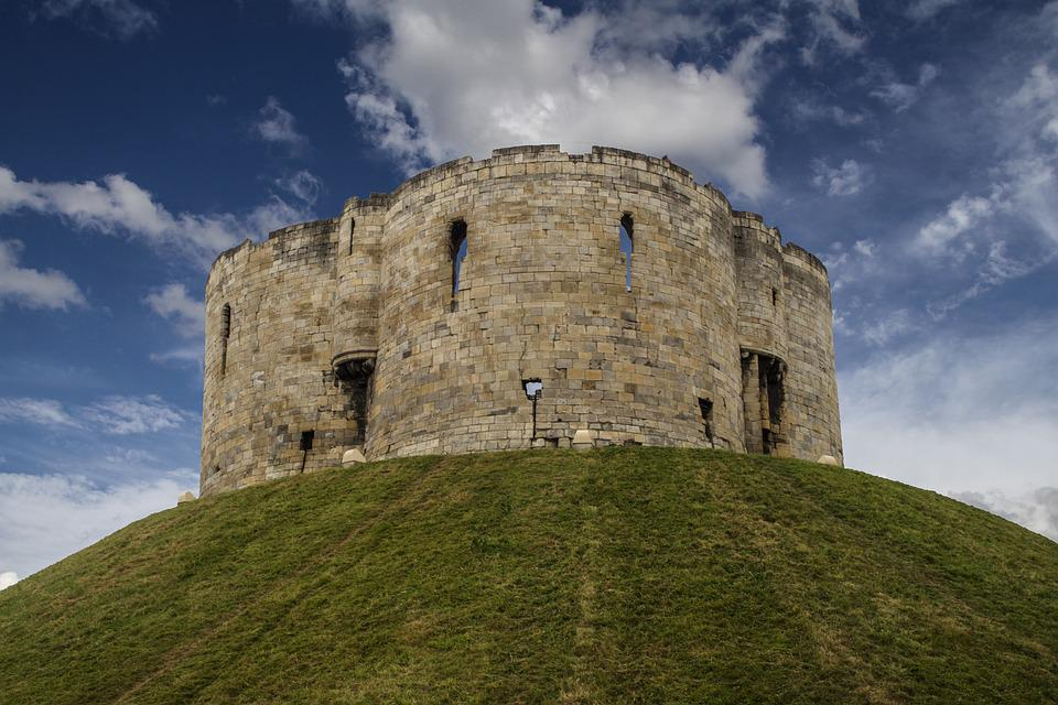 Clifford's Tower, York Castle, Defensive Tower, Donjon