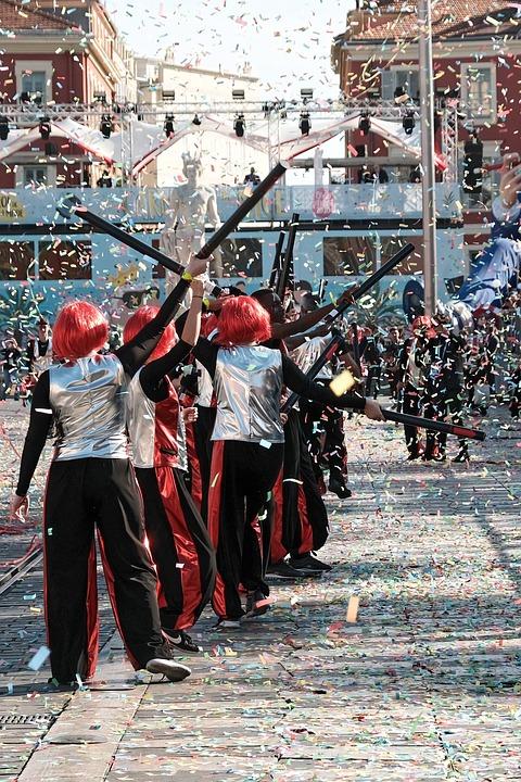 Carnival, Nice, Disguise, Defilé, Celebration