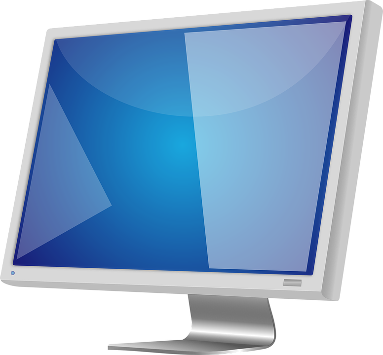 Lcd, Monitor, Screen, High, Definition, Hardware