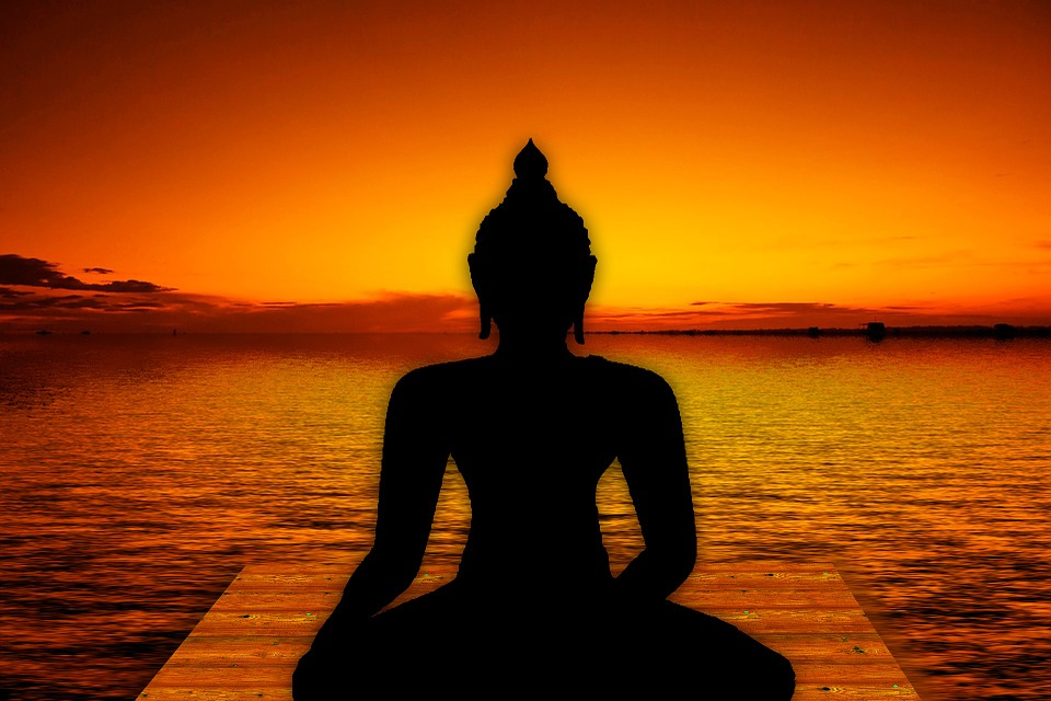 Yoga, Buddha, Deity, Shiva, Water, Relaxation