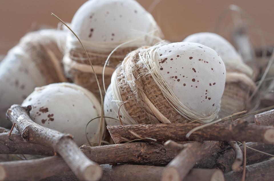 Egg, Easter Eggs, Deco, Dekoeier, Nest, Easter