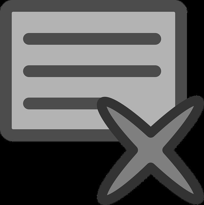 Close, App, Application, Window, Delete, Comment, Text