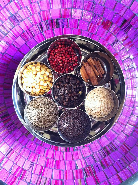 Masala, Spices, Box, Kitchen, Ayurveda, Delicacies
