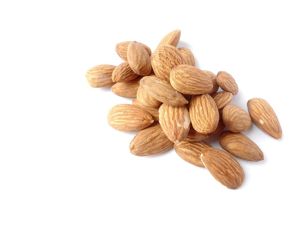 Almonds, Nuts, Delicious, Nibble, Food, Knabberzeug