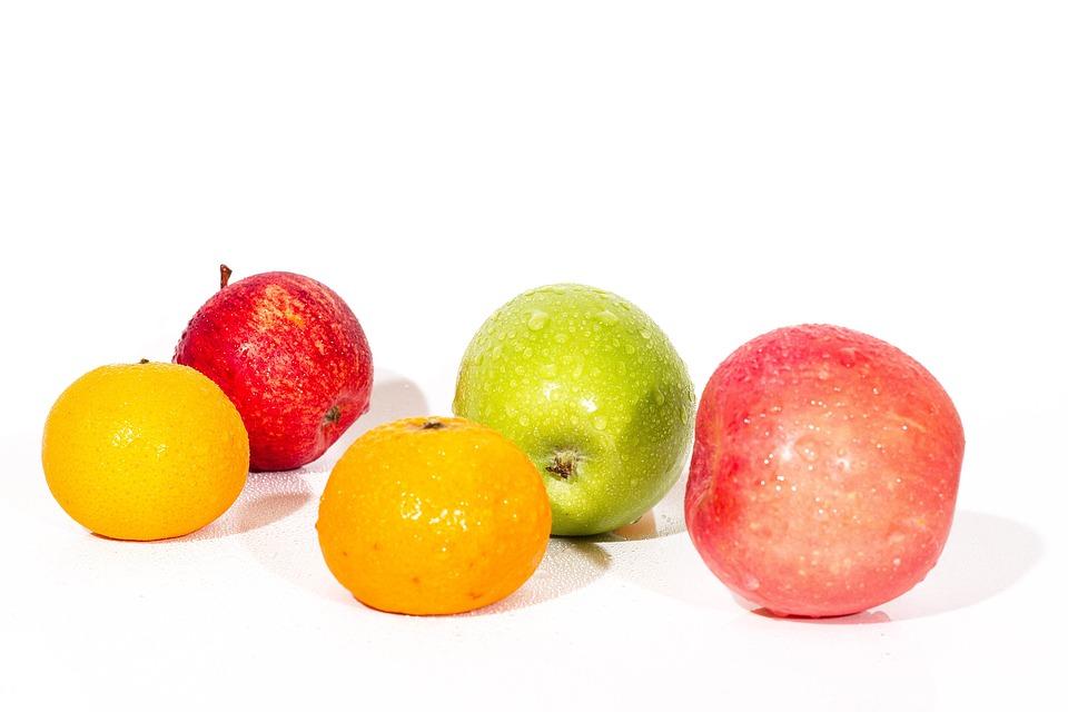 Fruit, Orange, Apple, Background, Delicious, Nature