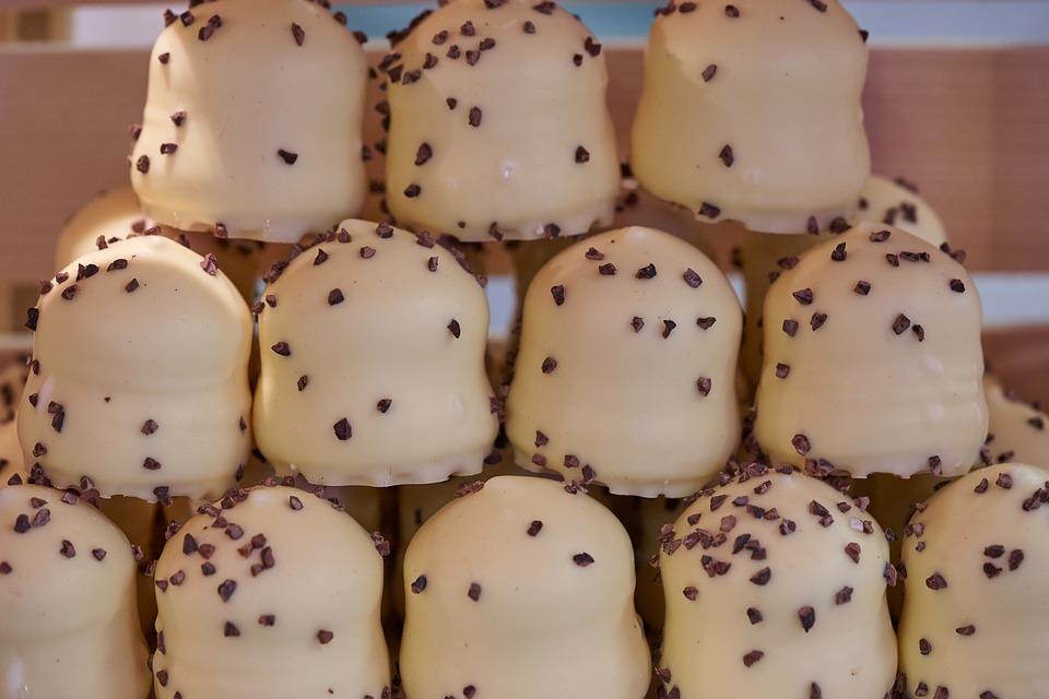 Chocolate Marshmallow, Dessert, Delicious