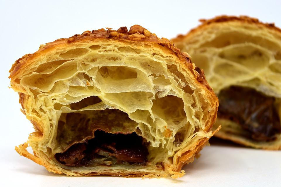 how to make croissants puff pastry