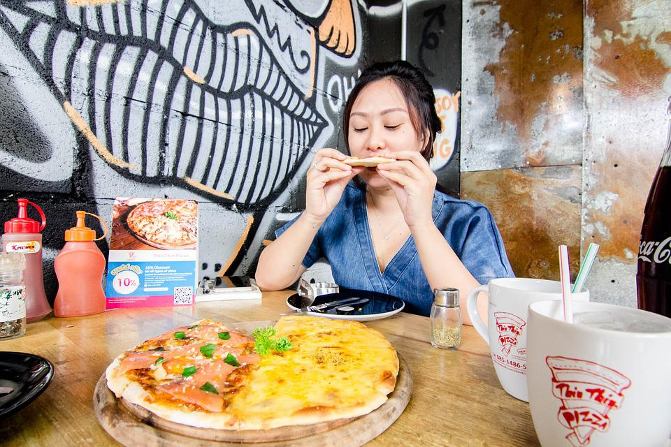 Pizza, Food, Cafe, Delicious, Restaurant, Healthy Food