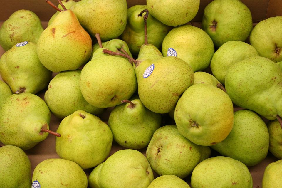 Pears, Fruit, Green, Market, Fruits, Food, Delicious