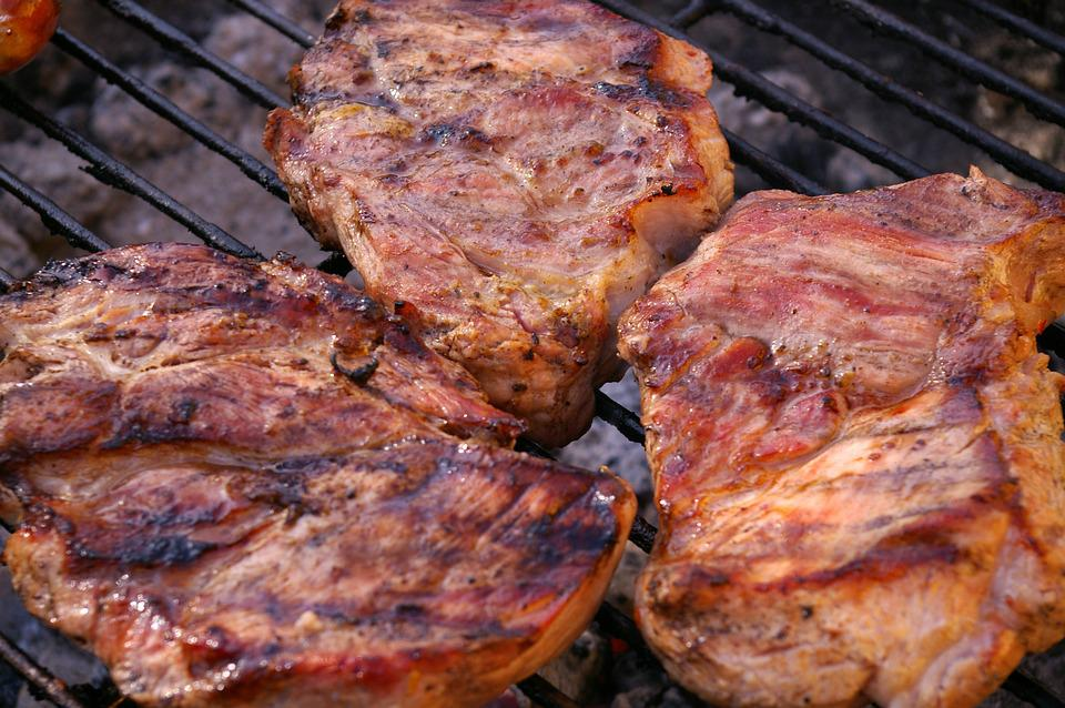 Grilled Meats, Barbecue, Meat, Grill, Delicious, Eat