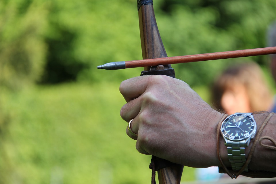 Archery, Sport, Arch, Hits, Objectives, Delivering