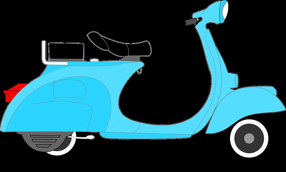 Scooter, Transportation, Driving, Delivery, Transport