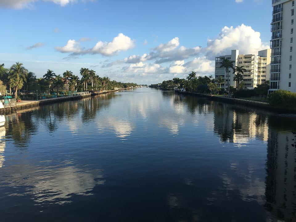 Waterway, Cloud, Sky, Waterfront, Delray Beach