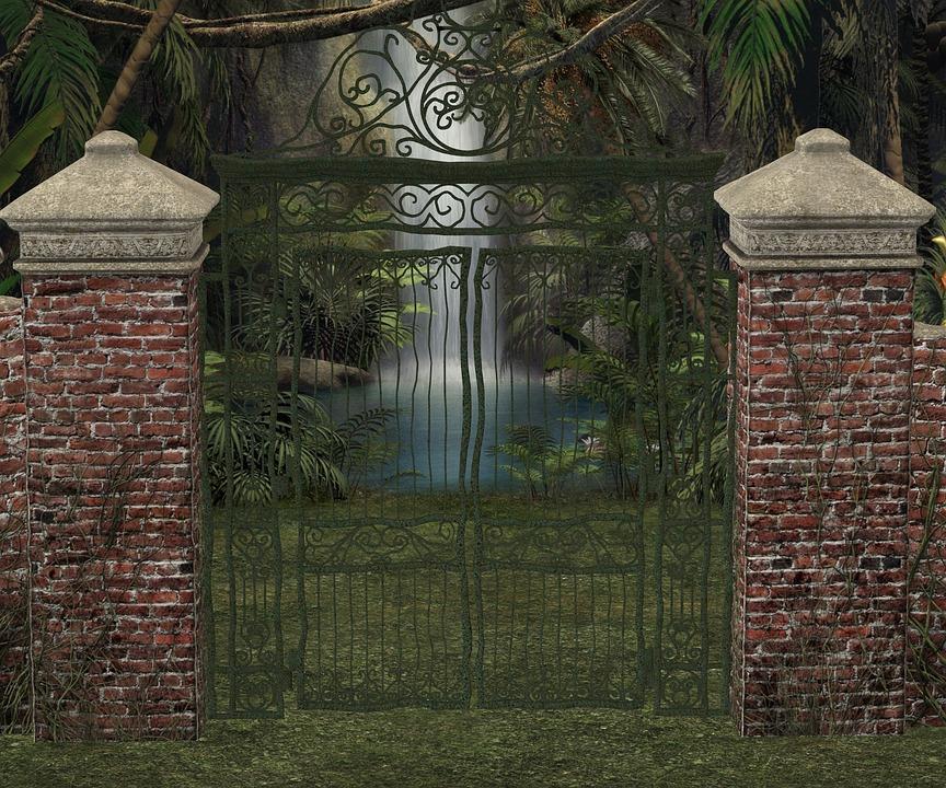 Goal, Waterfall, Demarcation, Wall, Output, Park, Input