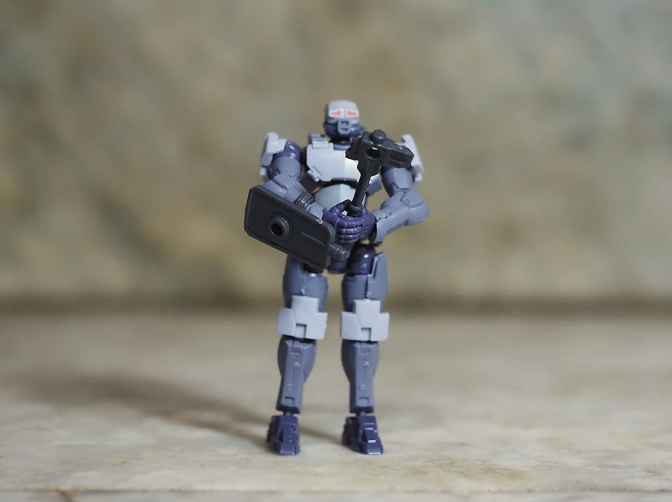 Hexa Gear, Demolition, Soldier, Toy, Model, Kit