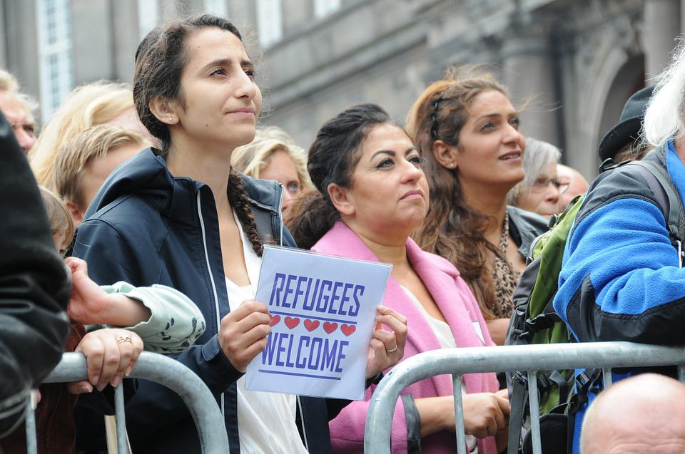 Refugees Welcome, Demonstration, Copenhagen, 2015