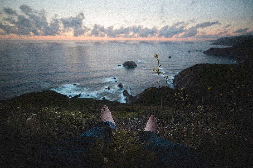 Guy, Man, Male, People, Feet, Legs, Barefoot, Denim