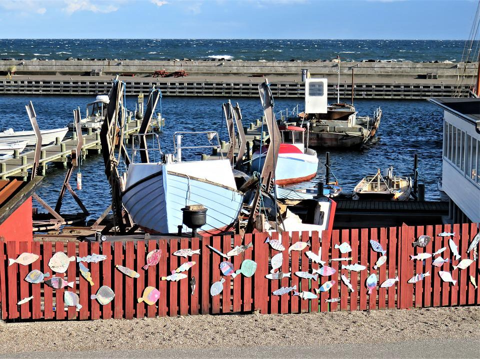 Port, Ships, Boats, Denmark, Sea, Water, Anchorages