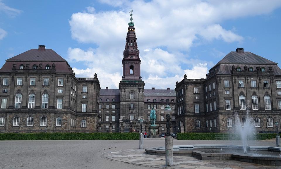 Castle, Government, Christiansborg, Denmark, Copenhagen