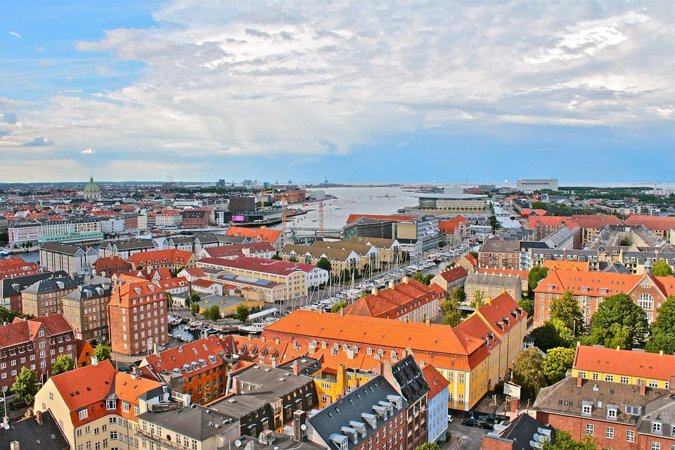 Copenhagen, Denmark, Architecture, Landmark, City