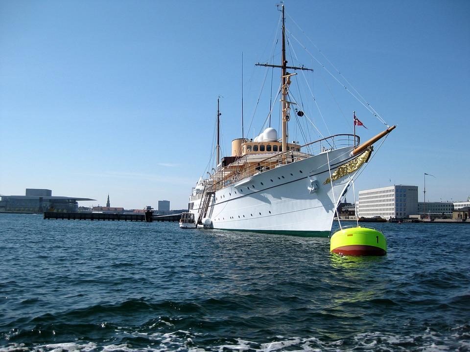 Copenhagen, Denmark, Royal Yacht