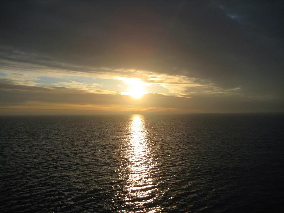 Sunset, Denmark, Fehmarn