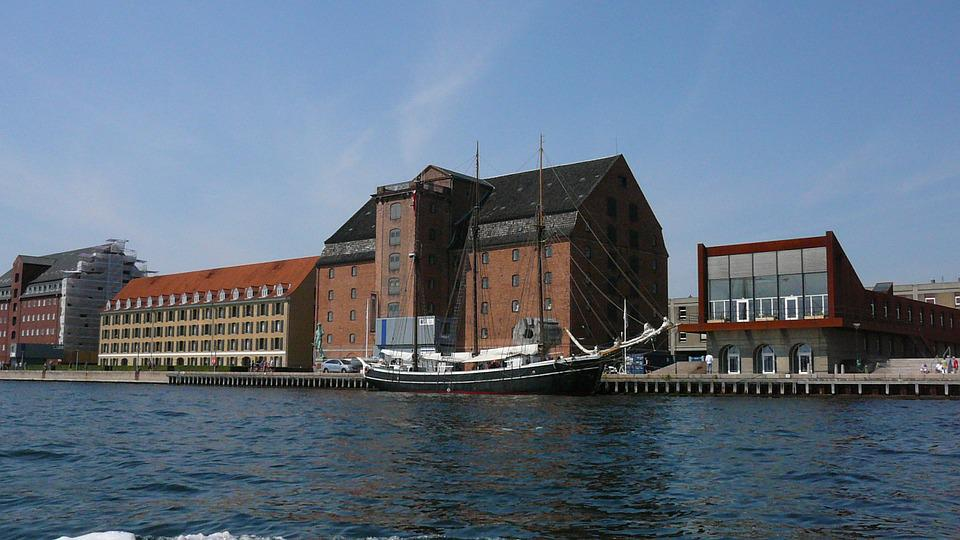 Copenhagen, Boat Tour, Denmark, Places Of Interest