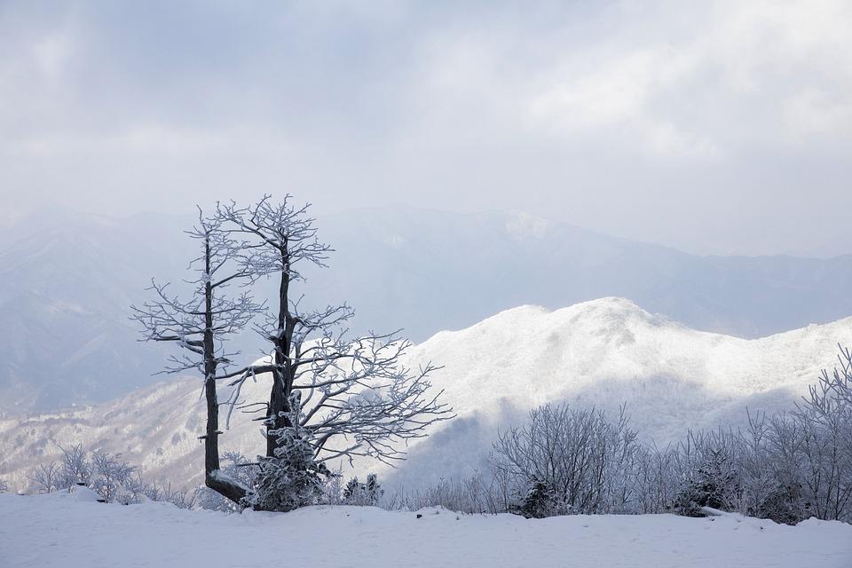Deogyusan, Mountain, Snow, Winter Mountain