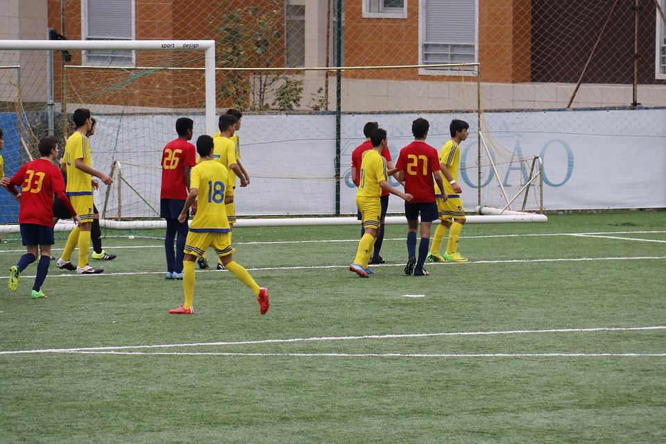Football, Move, Sport, Field, Lawn, Departure, Goal