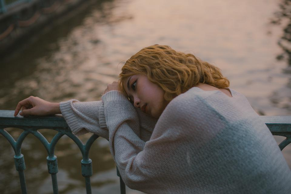 Girl, Sad, Portrait, Depression, Alone, Stress, Female