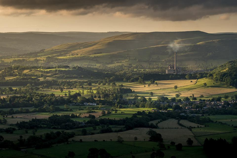Hope Valley, Cement Works, Peak District, Derbyshire