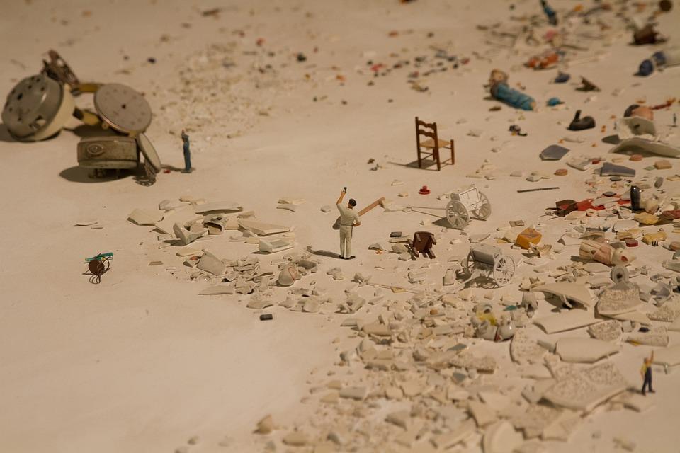 Sand, Desert, Beach Chaos, Solitude, Abandonment