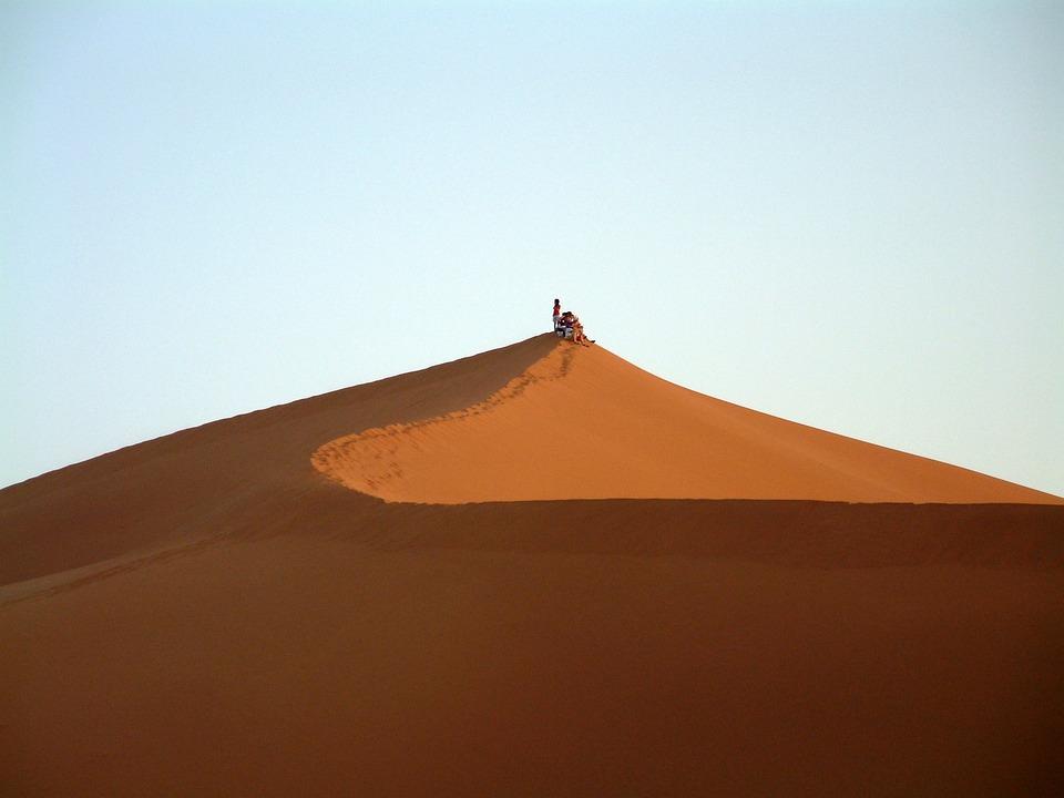 Dune, Desert, Landscape, Sand, Africa, Morocco, Sahara