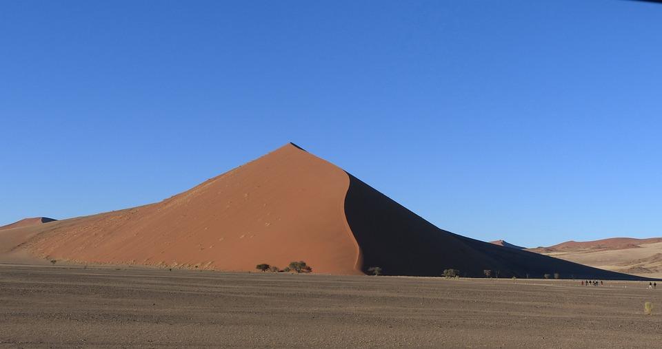 Dune, Namibia, Dunes, Desert, Africa, Sahara