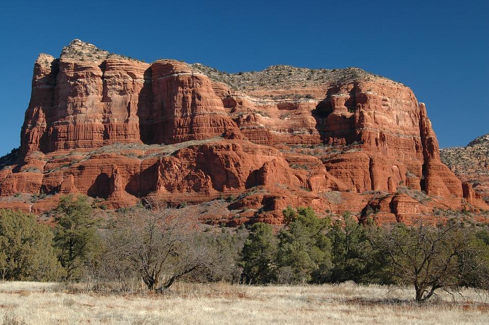 Southwest, Desert, Arizona, Red, Rock, Outdoors, Scenic