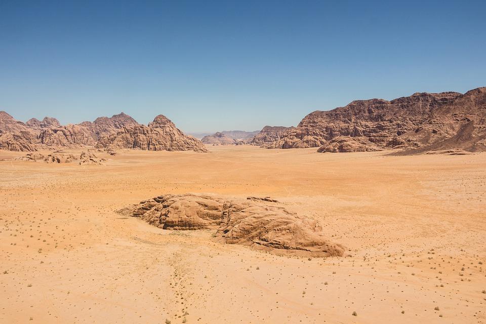 Barren, Desert, Dry, Landscape, Nature, Sand