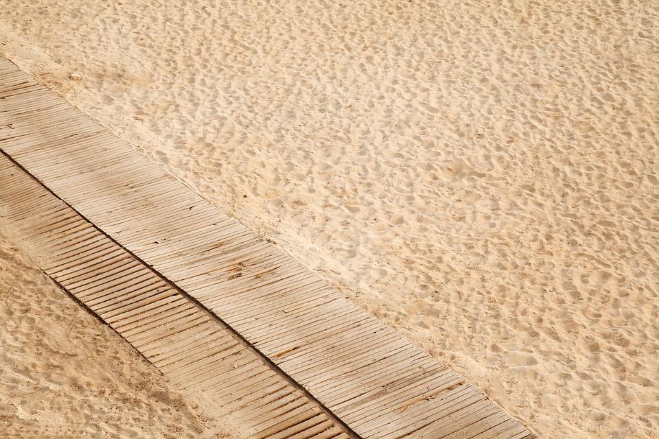 Beach, Boardwalk, Coast, Desert, Dune, Empty, Path